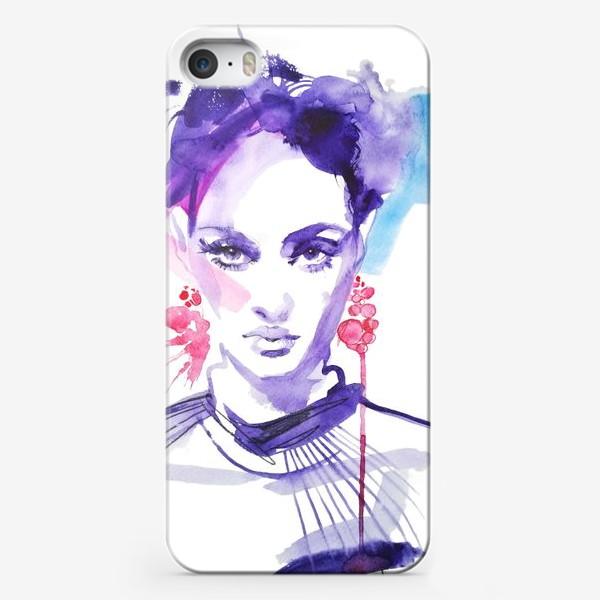 Чехол iPhone «Серьги»