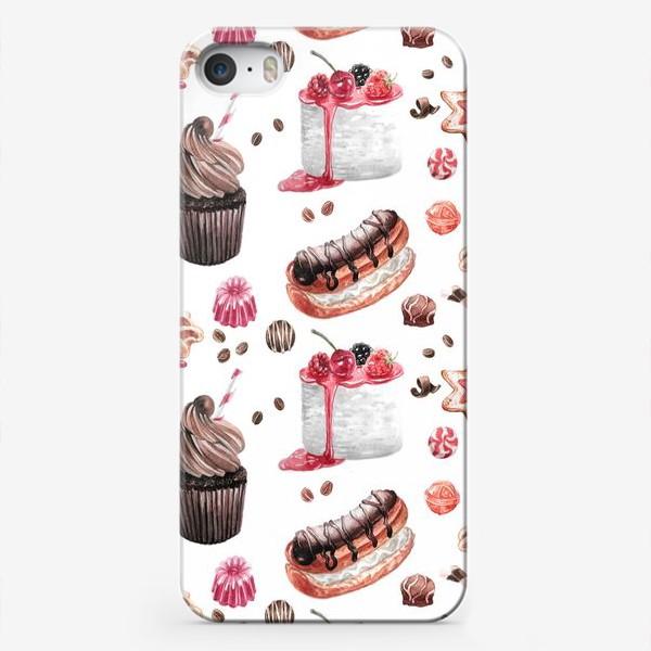 Чехол iPhone «Сладости2»