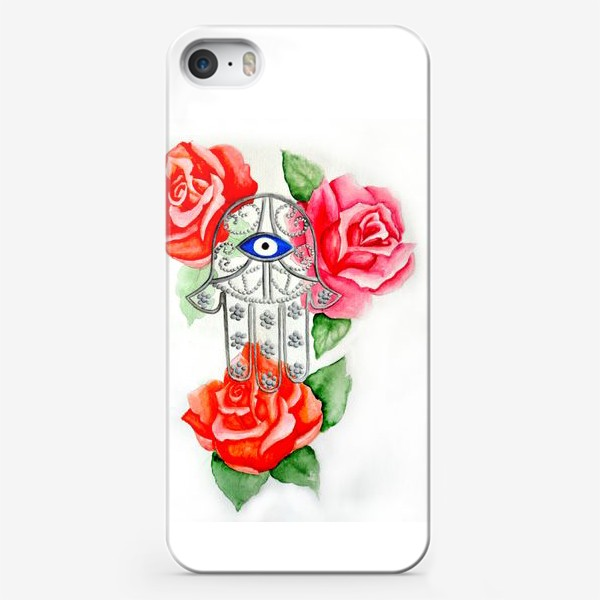 Чехол iPhone «Рука Хамса»