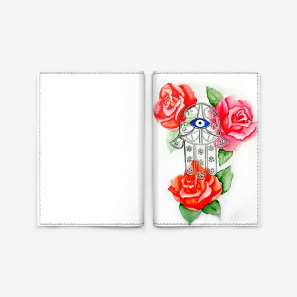 Обложка для паспорта «Рука Хамса»