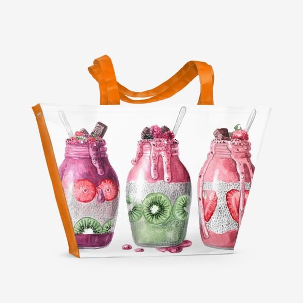 Пляжная сумка «Смузи»