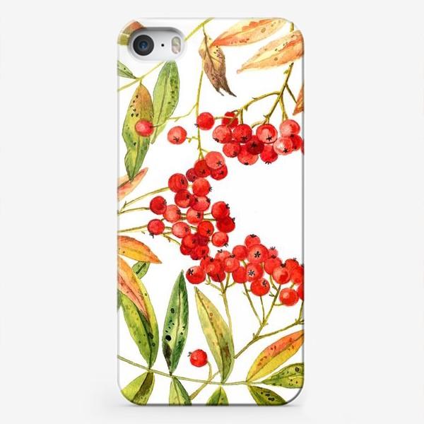 Чехол iPhone «Рябина»