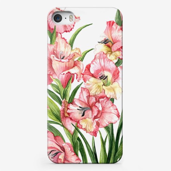 Чехол iPhone «Гладиолусы»
