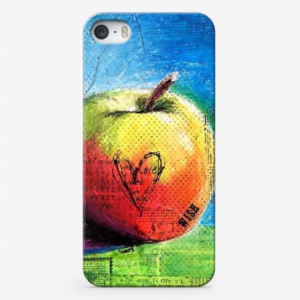 Чехол iPhone «Яблочное яблоко»