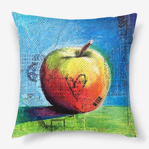 Подушка «Яблочное яблоко»