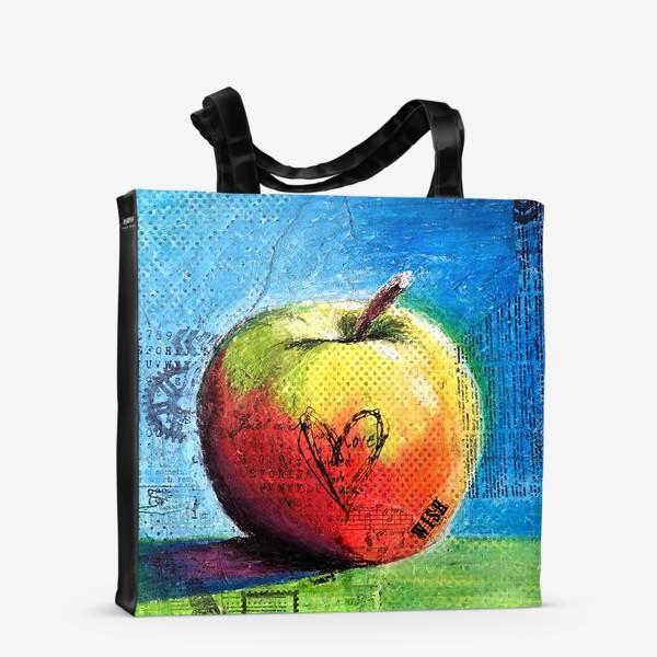 Сумка-шоппер «Яблочное яблоко»
