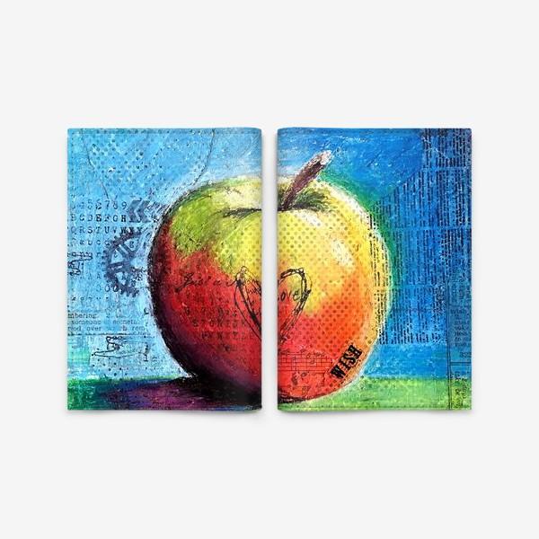 Обложка для паспорта «Яблочное яблоко»