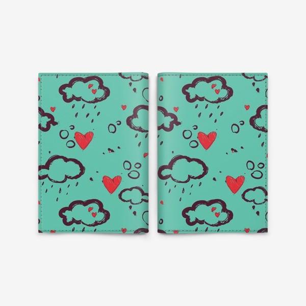 Обложка для паспорта «Осень и любовь»