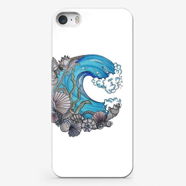 Чехол iPhone «море»