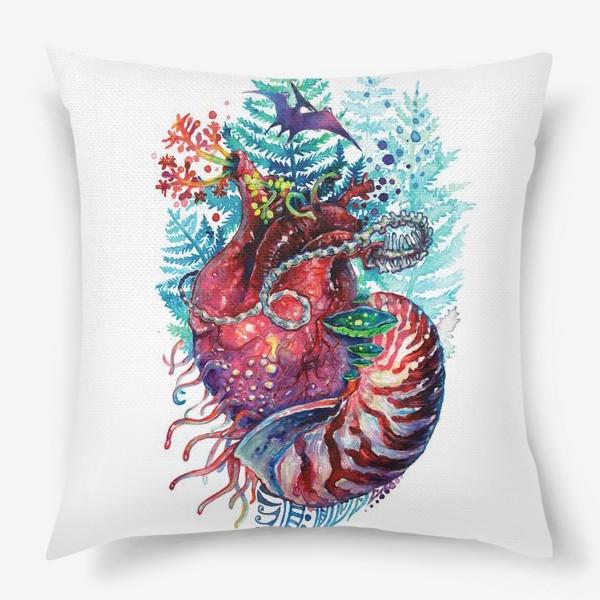 Подушка «Ancient Heart - Древнее Сердце»