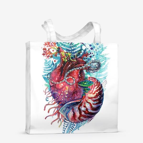 Сумка-шоппер «Ancient Heart - Древнее Сердце»