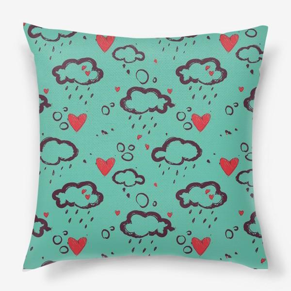 Подушка «Осень и любовь»