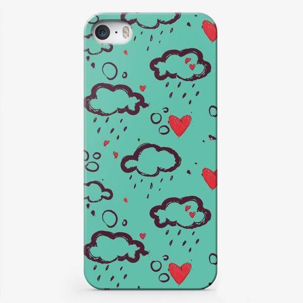 Чехол iPhone «Осень и любовь»