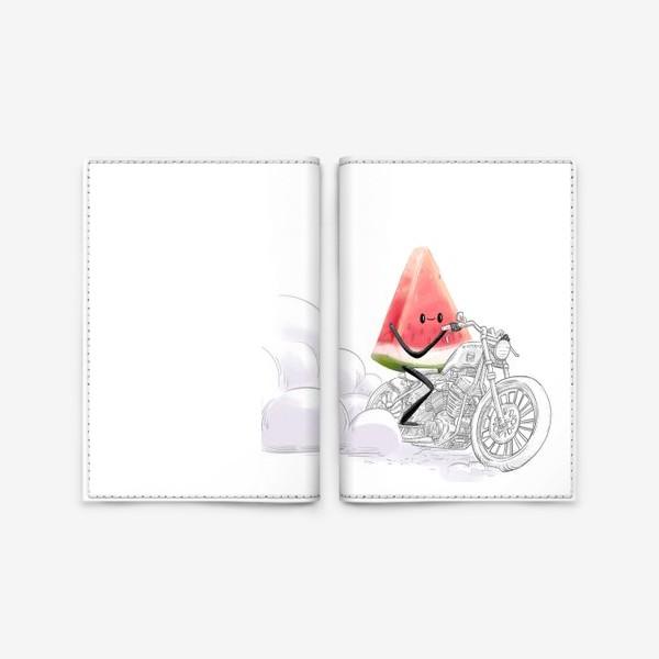 Обложка для паспорта «Арбуз»