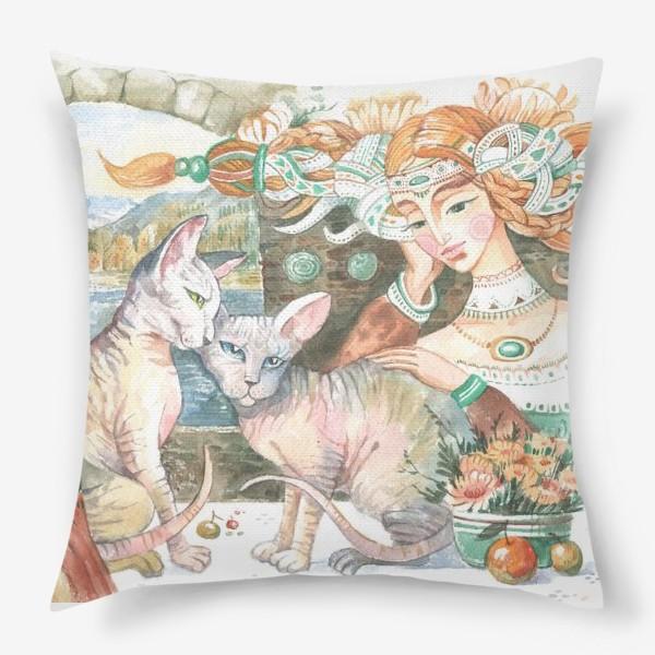 Подушка «принцы и принцессы»