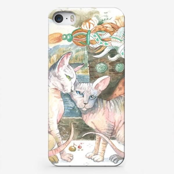 Чехол iPhone «принцы и принцессы»