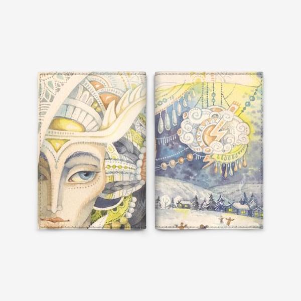 Обложка для паспорта «Зимние сказки»