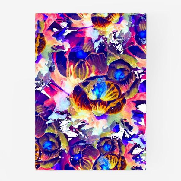 Постер «Абстрактная акварельная текстура»