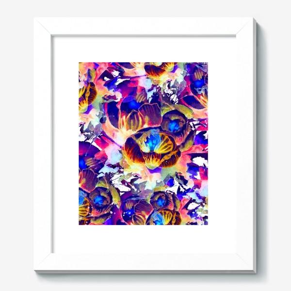 Картина «Абстрактная акварельная текстура»
