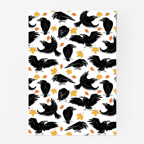 Постер «вороны»
