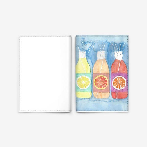 Обложка для паспорта «Лимонад»