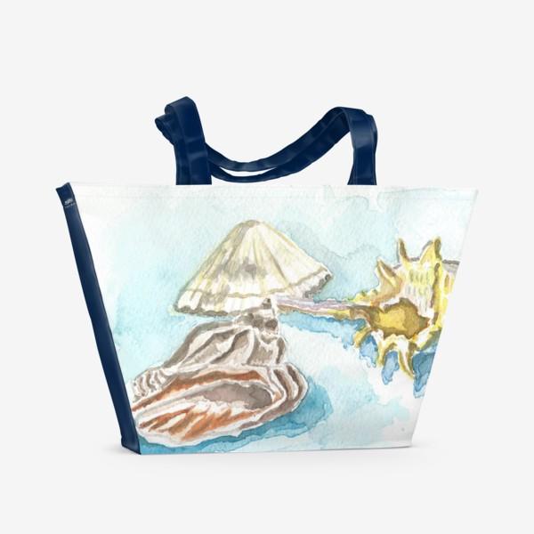 Пляжная сумка «Ракушки»