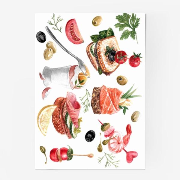 Постер «Завтрак»