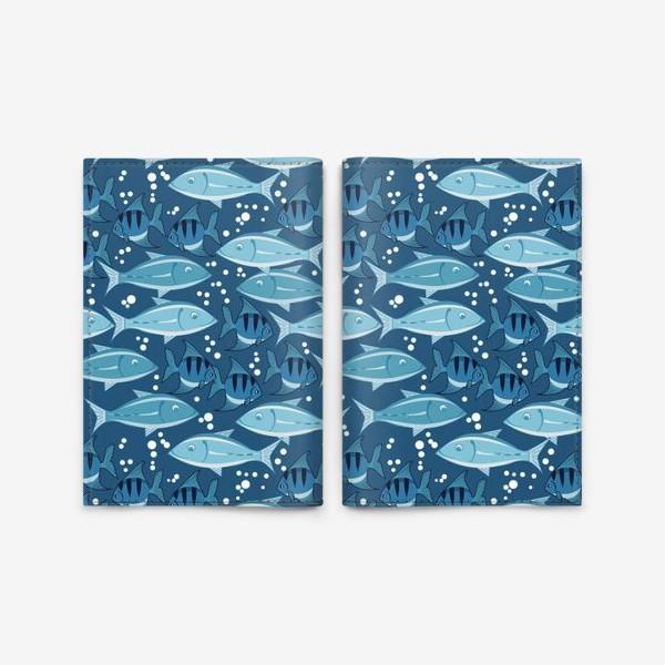 Обложка для паспорта «рыбки»