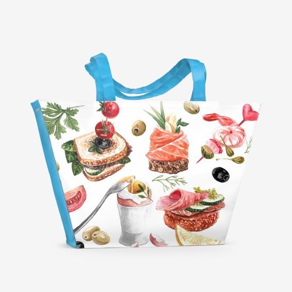 Пляжная сумка «Завтрак»