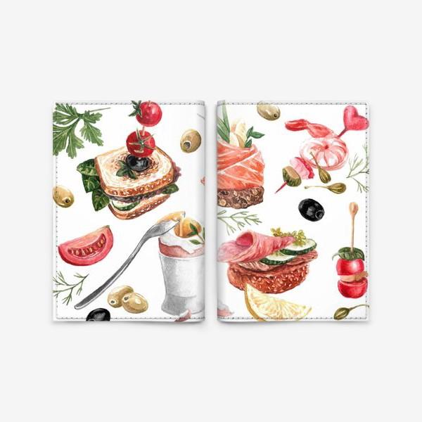 Обложка для паспорта «Завтрак»