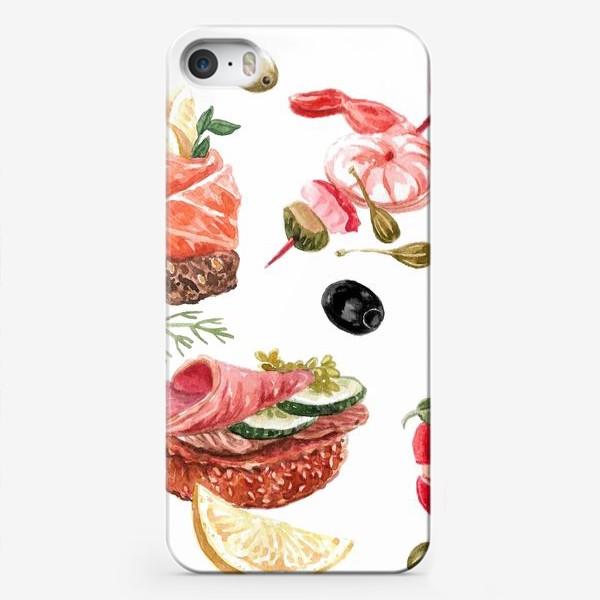 Чехол iPhone «Завтрак»