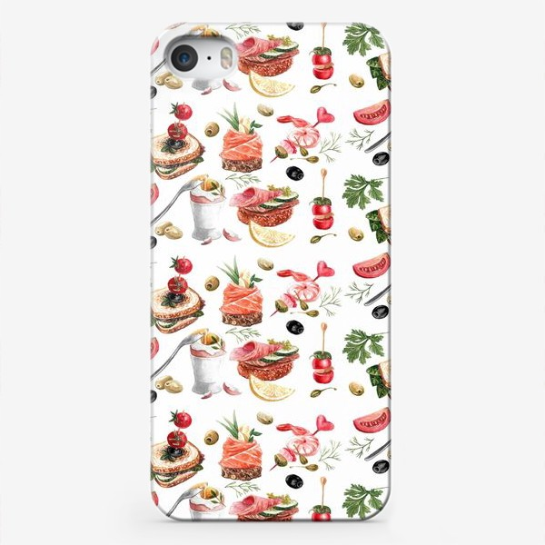 Чехол iPhone «Завтрак2»