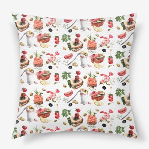 Подушка «Завтрак2»