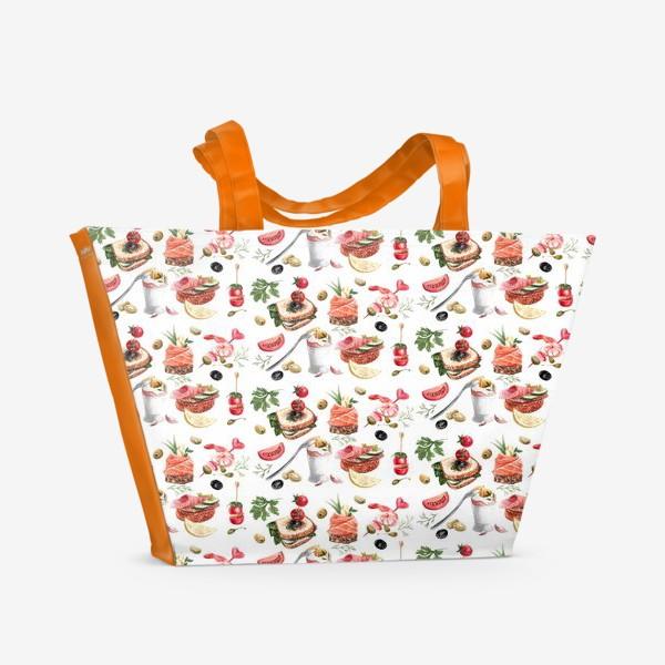 Пляжная сумка «Завтрак2»