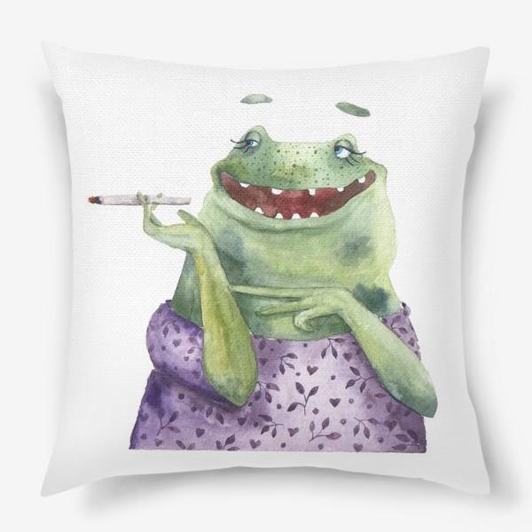 Подушка «Мадам Лягухина»