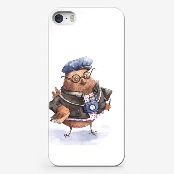 Чехол iPhone «Коррекспондент Чик»