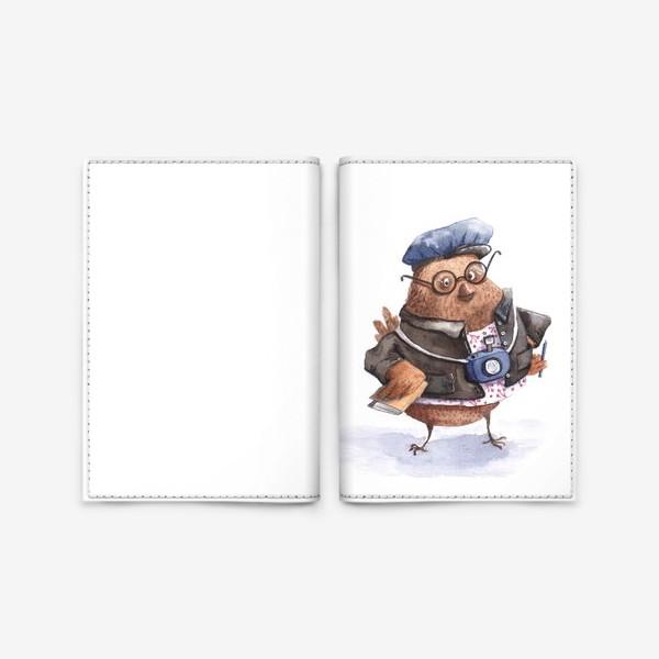 Обложка для паспорта «Коррекспондент Чик»