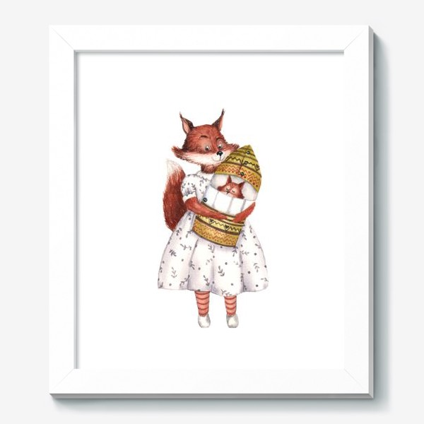 Картина «Мама Белка»
