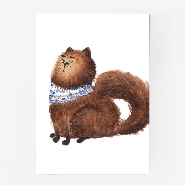 Постер «Обиженный кот»