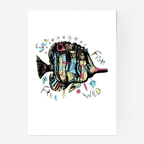 Постер «Рыба бохо»