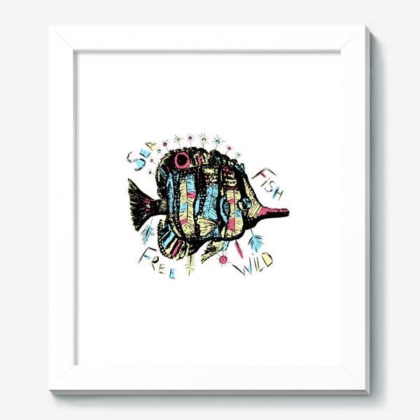Картина «Рыба бохо»