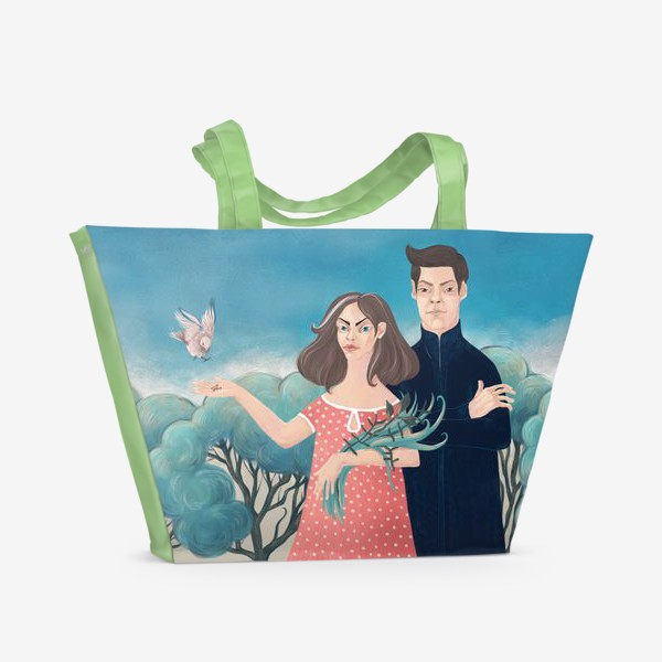 Пляжная сумка «Жизнь и Смерть»