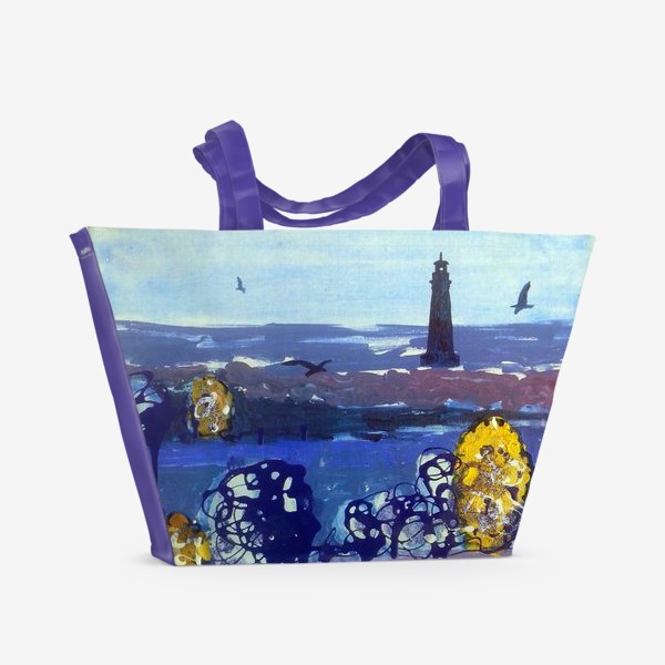 Пляжная сумка «ДЫХАНИЕ МОРЯ»
