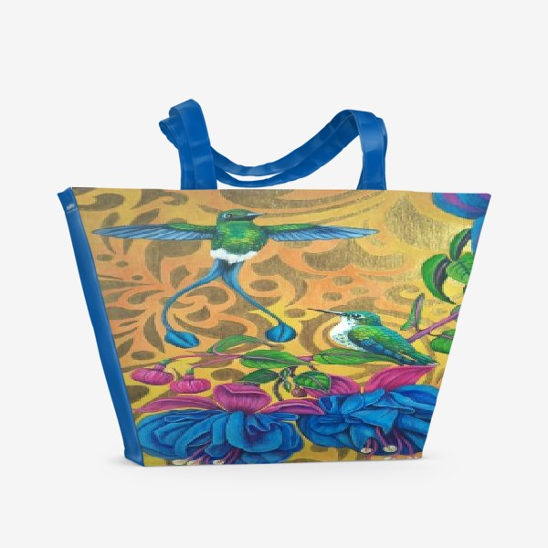 Пляжная сумка «Идиллия.»