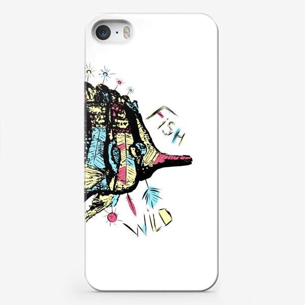 Чехол iPhone «Рыба бохо»