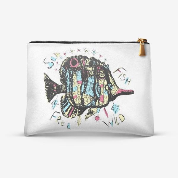Косметичка «Рыба бохо»
