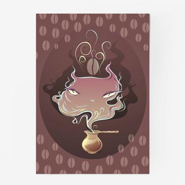 Постер «Кофейный джин»
