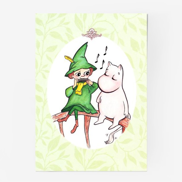 Постер «Снусмумрик и Муми-тролль»