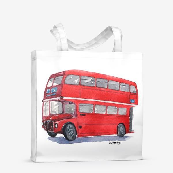 Сумка-шоппер «Лондонский автобус»