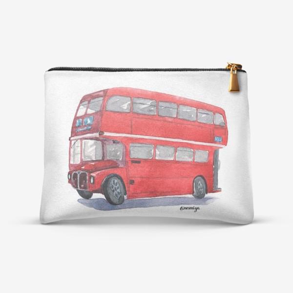 Косметичка «Лондонский автобус»